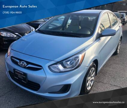 2014 Hyundai Accent for sale at European Auto Sales in Bridgeview IL