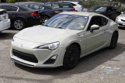 2016 Scion FR-S for sale at Sports Plus Motor Group LLC in Sunnyvale CA