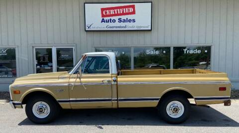 1970 Chevrolet C/K 10 Series for sale at Certified Auto Sales in Des Moines IA