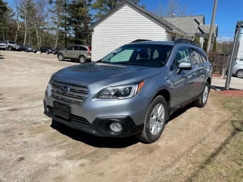 2015 Subaru Outback for sale at Williston Economy Motors in Williston VT