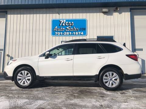 2016 Subaru Outback for sale at NESS AUTO SALES in West Fargo ND
