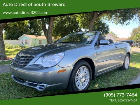 2008 Chrysler Sebring for sale at Auto Direct of South Broward in Miramar FL