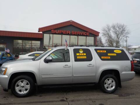 2012 Chevrolet Suburban for sale at Super Service Used Cars in Milwaukee WI