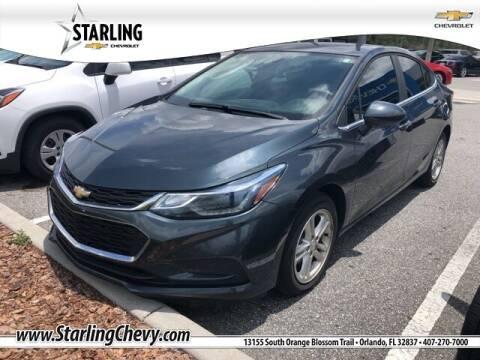 2018 Chevrolet Cruze for sale at Pedro @ Starling Chevrolet in Orlando FL