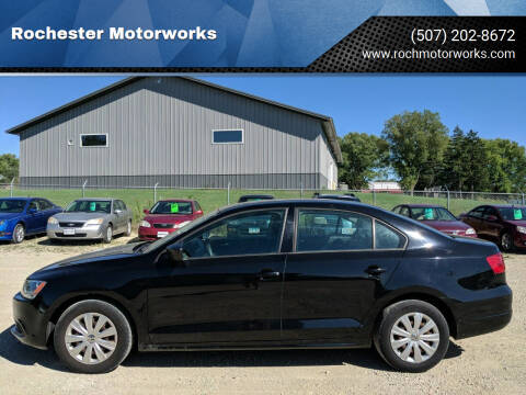 2011 Volkswagen Jetta for sale at Rochester Motorworks in Rochester MN