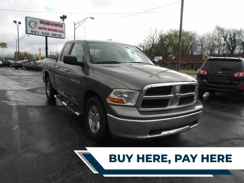 2011 RAM Ram Pickup 1500 for sale at Guidance Auto Sales LLC in Columbia TN