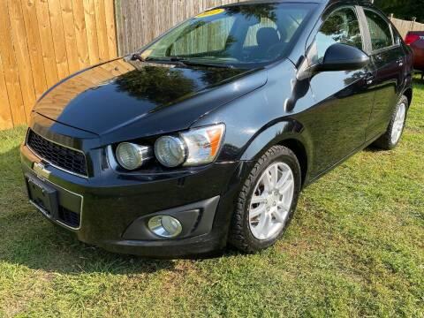 2012 Chevrolet Sonic for sale at ALL Motor Cars LTD in Tillson NY