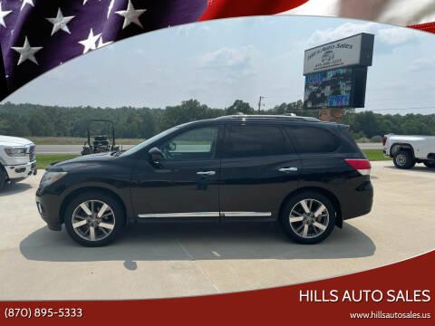 2014 Nissan Pathfinder for sale at Hills Auto Sales in Salem AR