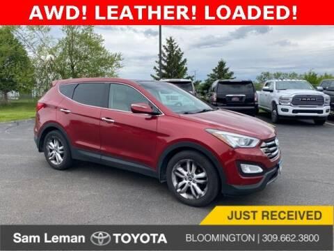 2013 Hyundai Santa Fe Sport for sale at Sam Leman Toyota Bloomington in Bloomington IL