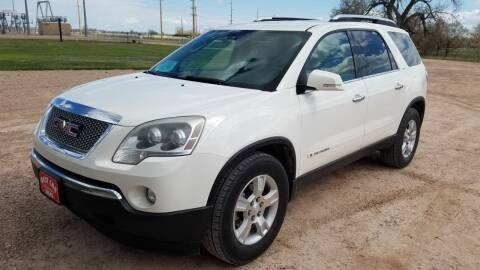 2008 GMC Acadia for sale at Best Car Sales in Rapid City SD