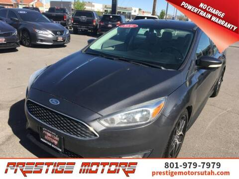 2016 Ford Focus for sale at Prestige Motors LLC in Salt Lake City UT