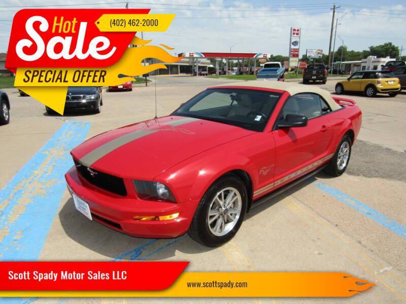 2005 Ford Mustang for sale at Scott Spady Motor Sales LLC in Hastings NE