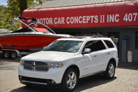 2013 Dodge Durango for sale at Motor Car Concepts II - Apopka Location in Apopka FL