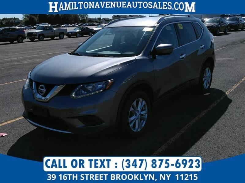 2016 Nissan Rogue for sale at Hamilton Avenue Auto Sales in Brooklyn NY