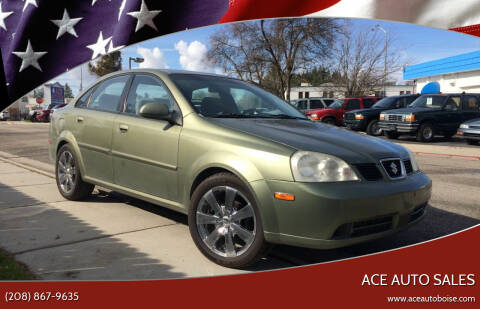 2005 Suzuki Forenza for sale at Ace Auto Sales in Boise ID