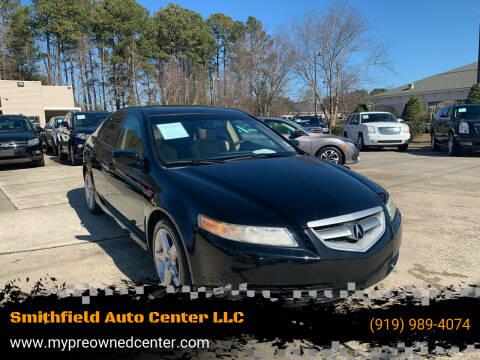 2005 Acura TL for sale at Smithfield Auto Center LLC in Smithfield NC