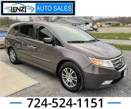2012 Honda Odyssey for sale at LENZI AUTO SALES in Sarver PA