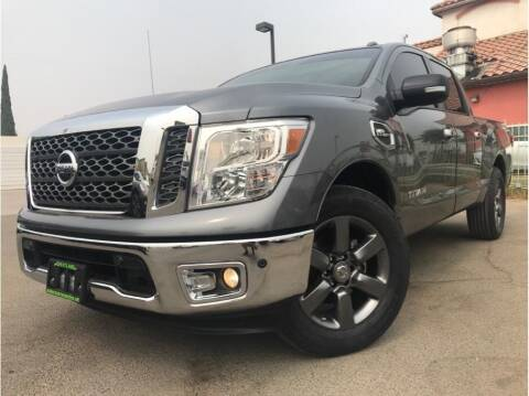 2017 Nissan Titan for sale at MADERA CAR CONNECTION in Madera CA