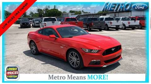2017 Ford Mustang for sale at Your First Vehicle in Miami FL
