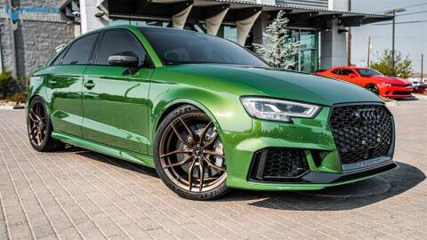 2018 Audi RS 3 for sale at MUSCLE MOTORS AUTO SALES INC in Reno NV