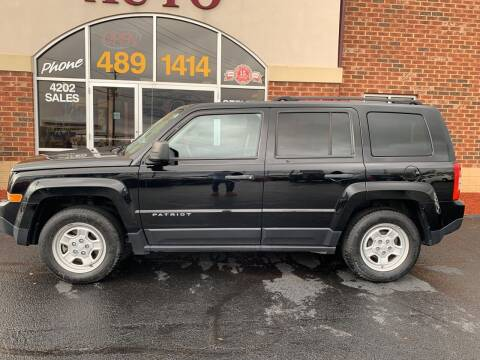 2017 Jeep Patriot for sale at Professional Auto Sales & Service in Fort Wayne IN