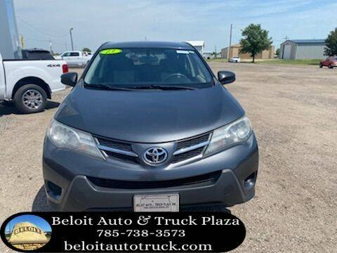 2013 Toyota RAV4 for sale at BELOIT AUTO & TRUCK PLAZA INC in Beloit KS