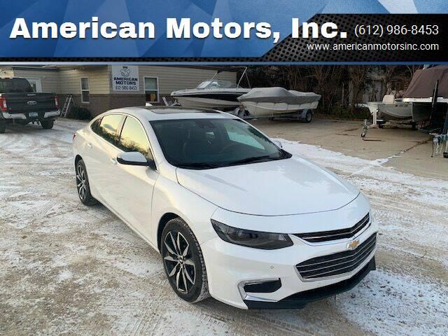 2017 Chevrolet Malibu for sale at American Motors, Inc. in Farmington MN