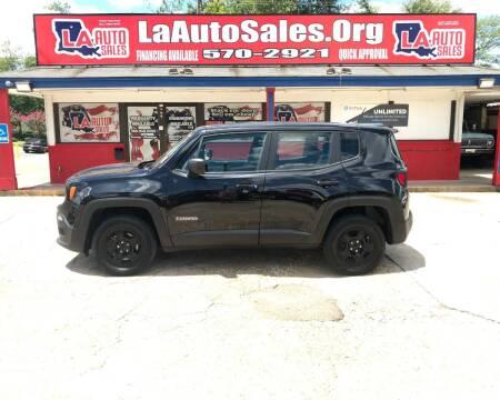 2016 Jeep Renegade for sale at LA Auto Sales in Monroe LA