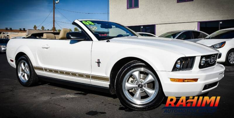 2008 Ford Mustang for sale at Rahimi Automotive Group in Yuma AZ