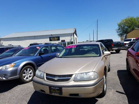 2005 Chevrolet Impala for sale at BELOW BOOK AUTO SALES in Idaho Falls ID