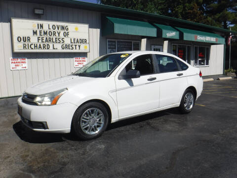 2009 Ford Focus for sale at GRESTY AUTO SALES in Loves Park IL