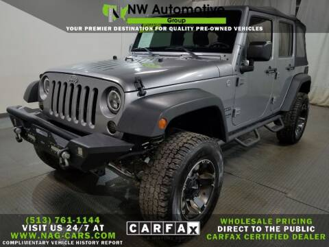 2015 Jeep Wrangler Unlimited for sale at NW Automotive Group in Cincinnati OH