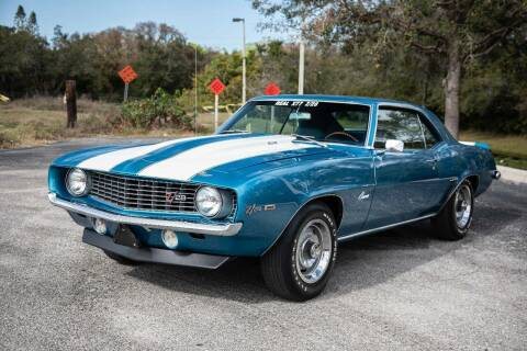 1969 Chevrolet Camaro for sale at Exquisite Auto in Sarasota FL