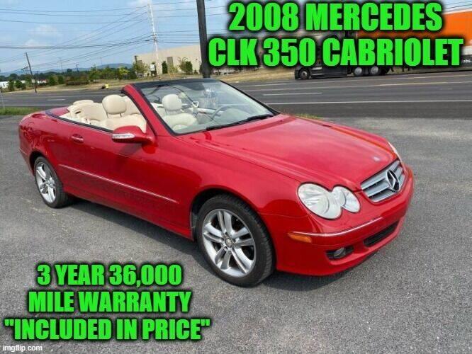 2008 Mercedes-Benz CLK for sale at D&D Auto Sales, LLC in Rowley MA