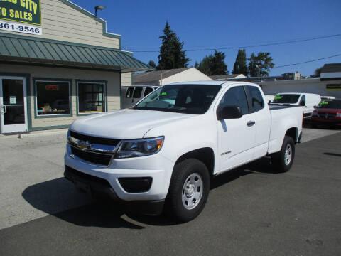 2018 Chevrolet Colorado for sale at Emerald City Auto Inc in Seattle WA