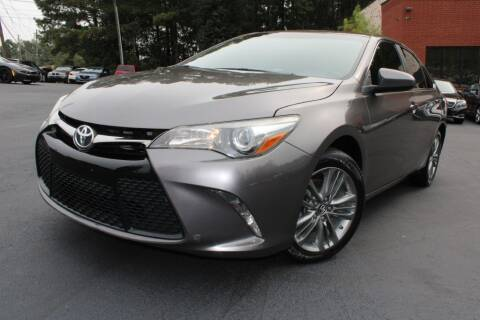 2017 Toyota Camry for sale at Atlanta Unique Auto Sales in Norcross GA