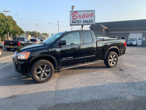 2015 Nissan Titan for sale at Bravo Auto Sales in Whitesboro NY
