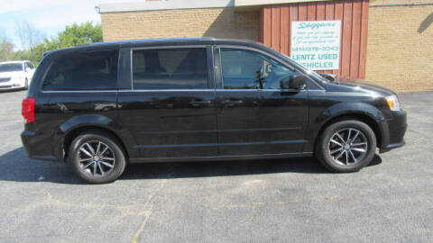 2017 Dodge Grand Caravan for sale at LENTZ USED VEHICLES INC in Waldo WI