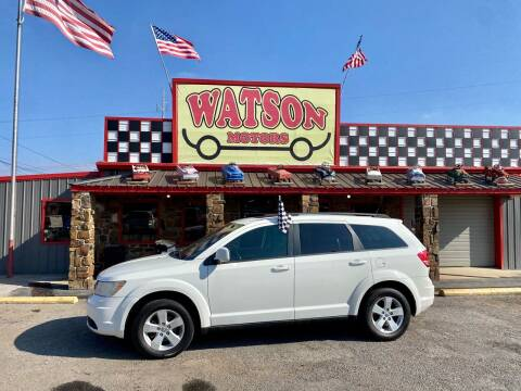 2010 Dodge Journey for sale at Watson Motors in Poteau OK