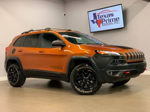 2015 Jeep Cherokee for sale at Texas Prime Motors in Houston TX