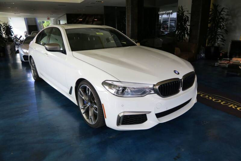 2019 BMW 5 Series for sale at OC Autosource in Costa Mesa CA