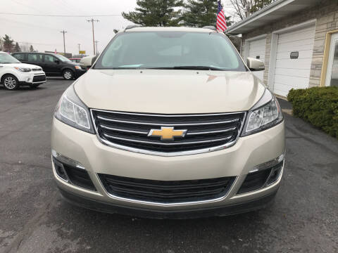 2016 Chevrolet Traverse for sale at Tonys Auto Sales Inc in Wheatfield IN