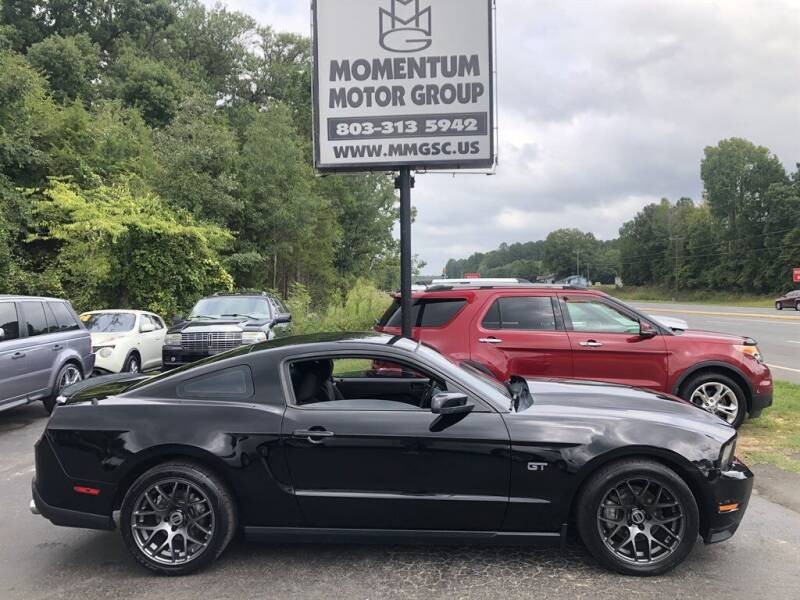 2010 Ford Mustang for sale at Momentum Motor Group in Lancaster SC