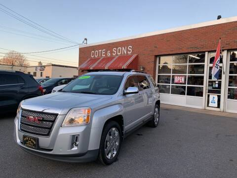2012 GMC Terrain for sale at Cote & Sons Automotive Ctr in Lawrence MA