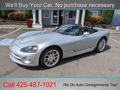 2004 Dodge Viper for sale at Platinum Autos in Woodinville WA