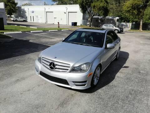 2012 Mercedes-Benz C-Class for sale at Best Price Car Dealer in Hallandale Beach FL