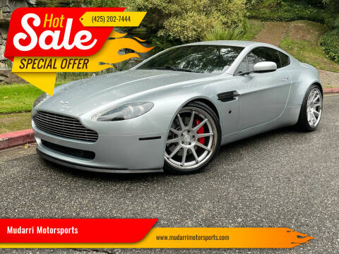 2006 Aston Martin V8 Vantage for sale at Mudarri Motorsports in Kirkland WA