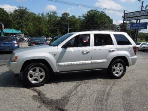 2006 Jeep Grand Cherokee for sale at M G Motors in Johnston RI