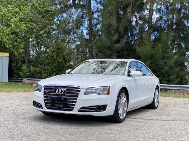 2012 Audi A8 L for sale at Exclusive Impex Inc in Davie FL