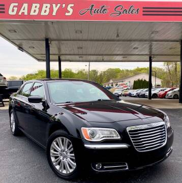 2014 Chrysler 300 for sale at GABBY'S AUTO SALES in Valparaiso IN